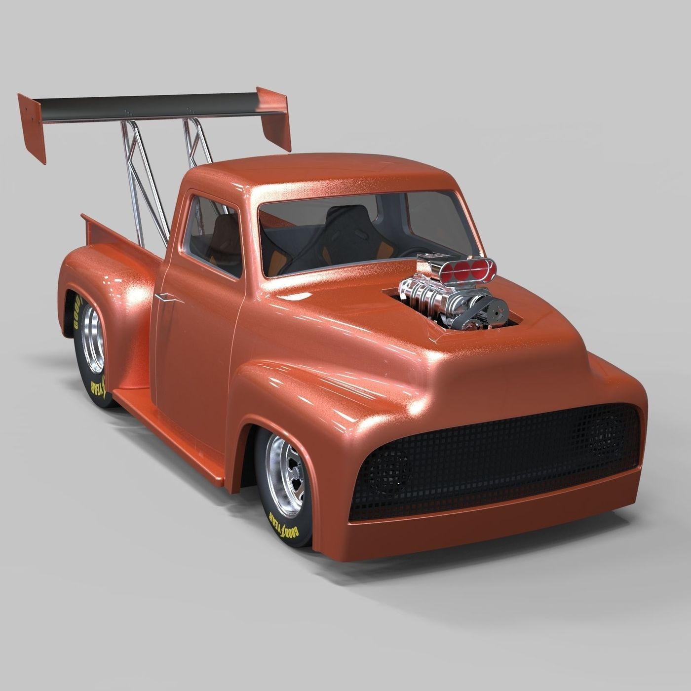Pickup Dragster
