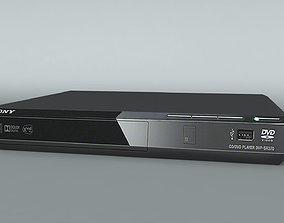 DVD player 3D asset game-ready