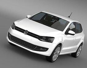 Volkswagen Polo BiFuel 5d 2010-2013 3D