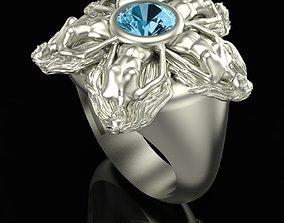 3D printable model Ring Flower Dance