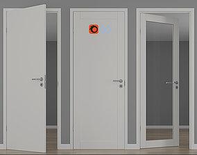 Modern interior doors unique 01L - GW01L - EASY GW 3D