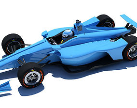 Indycar 2018 - Oval version 3D model