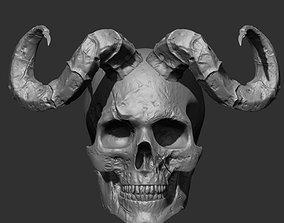 Skull 3D man