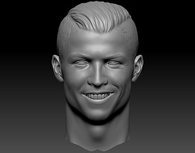 soccer Cristiano Ronaldo CR7 3D Print