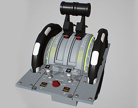 Throttle Quadrant 3D model