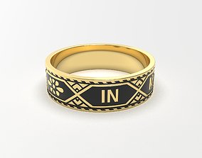rings set In Memory Of 3D printable model