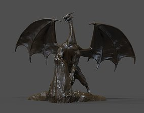 3D print model Dragon Statue statue
