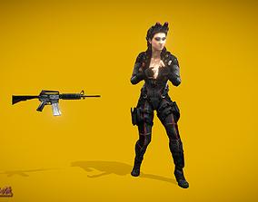3D asset Battle Royale Night Spy