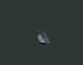 3D asset Medieval armor parts 001 - feet