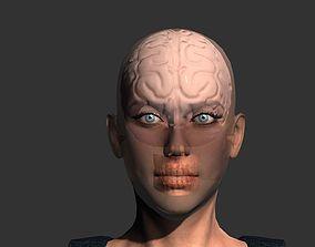 VR / AR ready Brain model