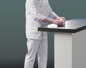 3D model Clemens 10140 - Standing Baker