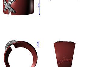 RINGS liens-CG74 3D print model