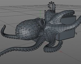 3D model Octopus animals