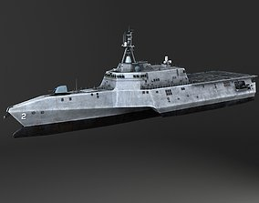 3D model USS Independence LCS-2