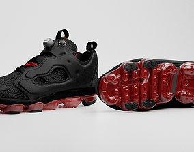 3D model Nike x Reebok - Vapormax x Instapump Fury - aka 1