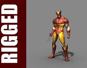 Wolverine RIg 3D