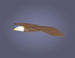 3D model Cartoon Eagle