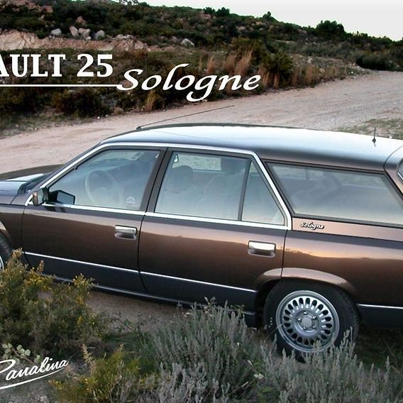 "Renault 25 Break - ""Sologne"" Station Wagon 1985 model project"