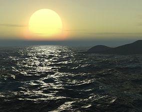 ocean realistic 3D model
