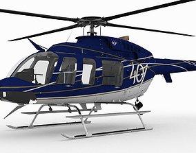 3D asset Bell 407