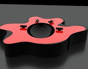 Original Designed Ashtray 3D