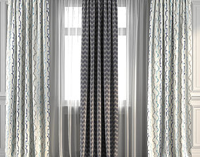 3D Curtain Set 262