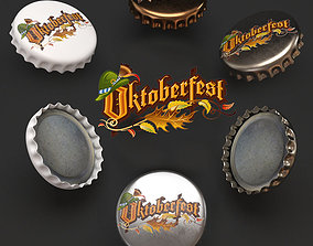 3D cap beer Oktoberfest