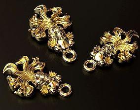 gildfishpendant 3D print model Gold Fish Pendant