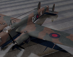 A W Whitley Mk-3 3D