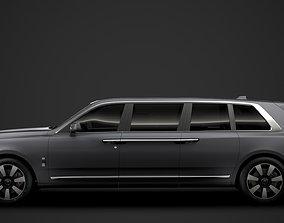 Rolls Royce Cullinan Limousine 2021 3D