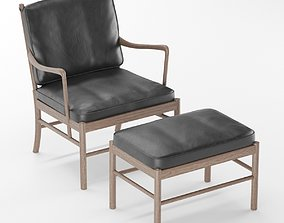 3D model Colonial Chair OW149