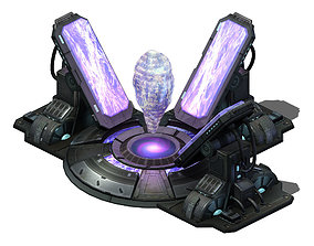 Crystal - Power Plant 03 3D