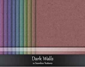 Dark Walls Seamless Textures Set wallpapertextures 3D