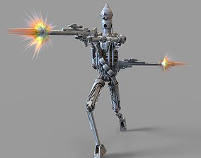 IG-88 Battle Droid Mandalorian TV Show 3D print model