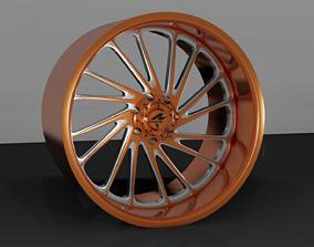 3D print model Rogue Forged R23 Ronin wheel