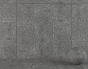 3D model Stone Wall Tiles Kibo Fume 80x80