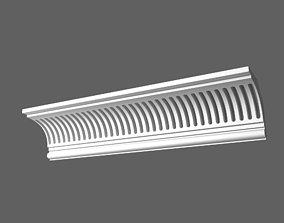 3D model Eaves Cornice
