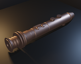 Star Wars - Barriss Offee lightsaber - STL files for 3D 1
