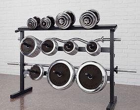 3D Gym equipment 17 am169