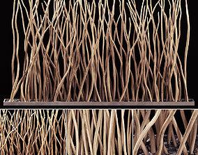 Planter dry branch wall decor 3D