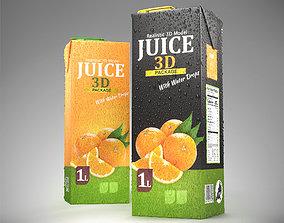 Juice Box 1L Size 3D