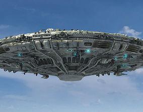 animated UFO Model