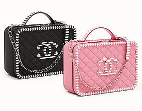 Chanel CC Filigree Vanity Case Bag 3D model VR / AR ready