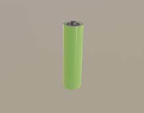3D asset Battery AA