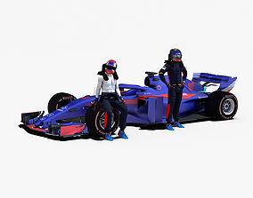 3D asset Toro Rosso STR13