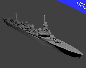 3D printable model French Duguay Trouin Class Cruiser