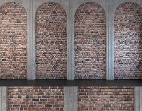 Wall Panel Set 135 3D model
