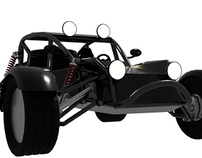3D model Buggy car