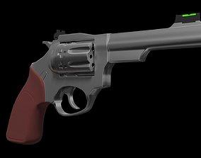 Revolver Ruger 101 3D