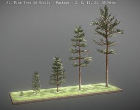 All Pine Trees Package 3D model